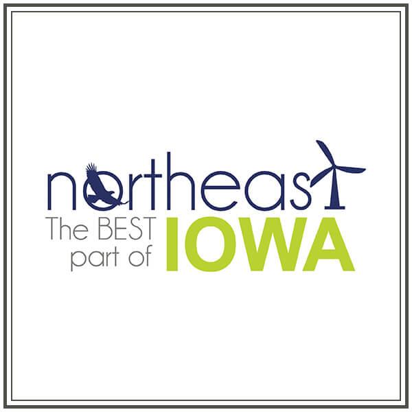 Northeast the Best Part of Iowa Logo